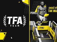 TFA Team - MMA Club Branding