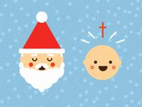 Santa vs. Baby Jesus