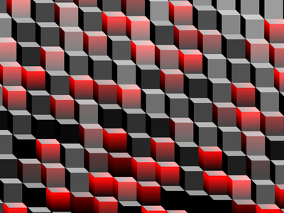 Cube Wall tinycode generative javascript