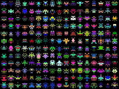 Tiny Sprite Generator generative pixelart javascript