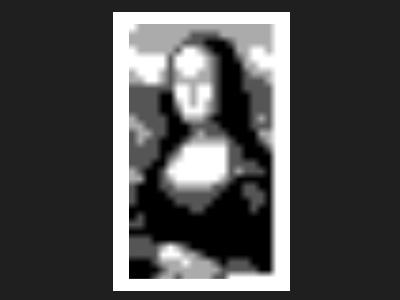 Mona Lisa in 140 Characters of Javascript