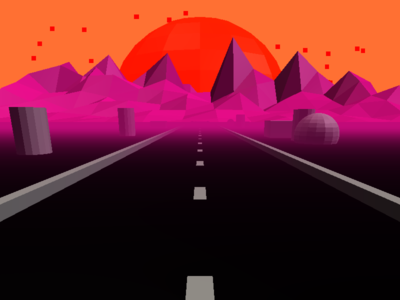 Retrowave Road