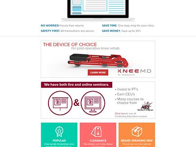 WebPT Marketplace Email illustration vector email commerce ui ux laptop icons layout webpt digital