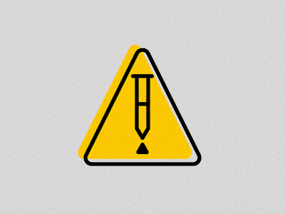 Why PTs Should Approach ACOs with Caution warning hazard symbol crutch crutches icon caution sign blog webpt vector illustration