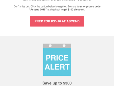 Ascend Price Alert - Calendar alert keynote calendar email ascend webpt gif animation icon flat vector illustration