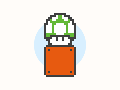 "Let's Take ""Skilled and Reasonable"" to Another Level video game game nintendo pixel 8 bit mushroom mario super mario blog webpt vector illustration"