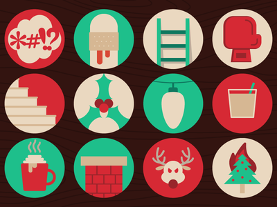 The 12 Codes of Christmas icd10 reindeer 12 days of christmas december injury icon holiday christmas blog webpt vector illustration