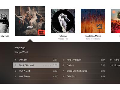 iTunes 11.(7) itunes music player ui app mac os x