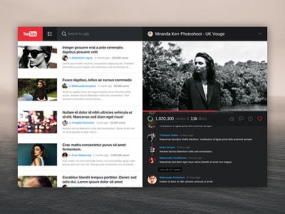YouTube youtube desktop app mac ui video media