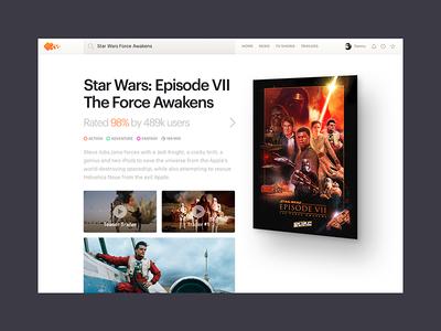 Movies Site Concept