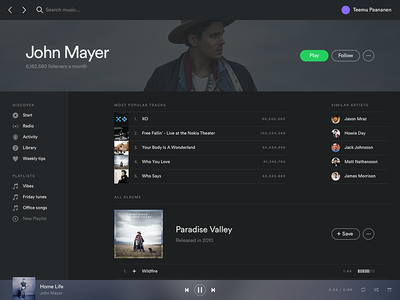 Spotify Redesign