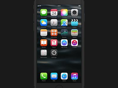 iOS Theme jailbreak icon app theme redesign ios