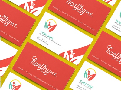Healthy M.E. Business Cards