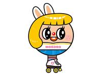 MOMO X ROLLER GIRL