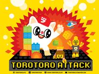 Torotoro Attack Dribbble