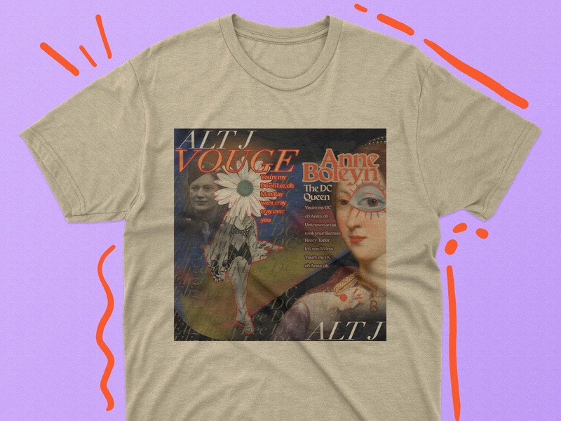 Bootleg tee design for Alt-J tee tee design alt-j dc bootleg graphicdesign graphic design adobe photoshop