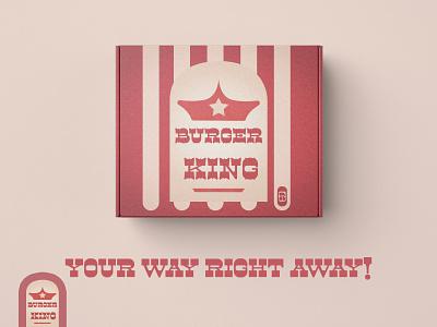 Burger King packaging logo branding icon typography illustraion vector art vector illustration adobe illustrator design