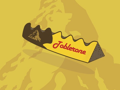 Toblerone wrapper re-design