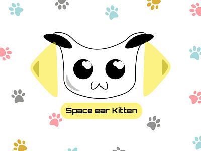 space kitten cats vector icon illustraion vector art design vector illustration adobe illustrator adobe photoshop