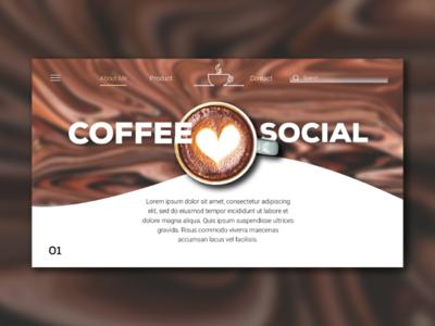 Website of Coffee Social