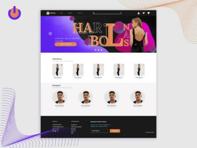 Landing Page (Home page) OnShop