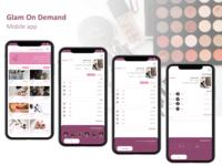 Reservation Flow for Glam on demand app