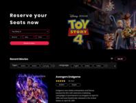Cinema Booking website