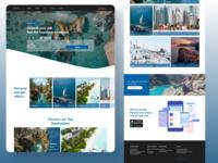 Booking trips website