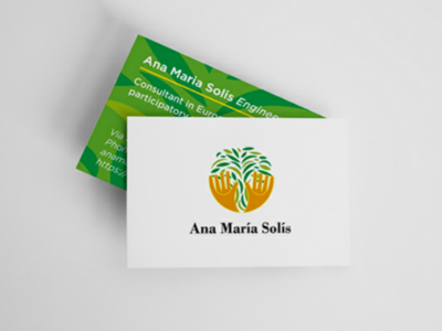 Business card | Ana María Solís