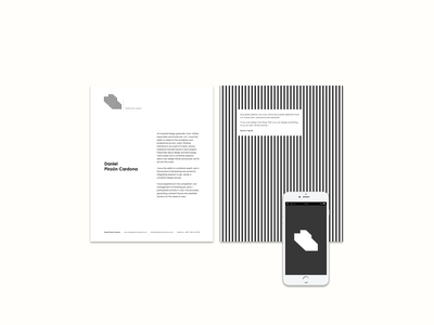 Pinzón Cardona solid color black and white line art construction industrial design logo design branding design