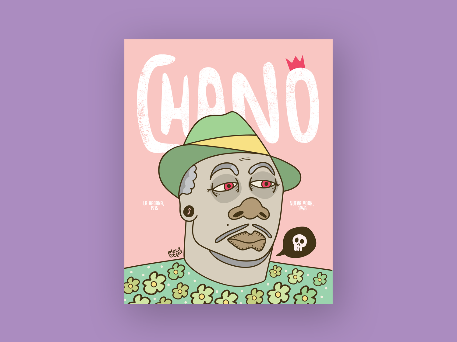Chano Pozo pastel colors ai music art illustrator chano pozo animation illustration malacostra book design editorial design character design