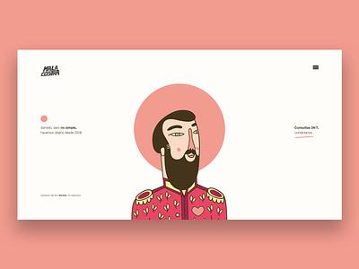 Malacostra ai design art vector malacostra character design design frontend header header illustration illustration design design website