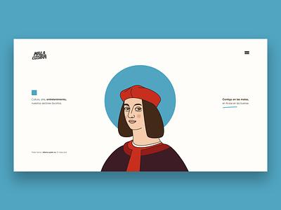 Malacostra education illustration characters frontend header illustration design website animation vector character design ai collage art design malacostra design art