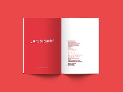 Anatomía de una caída indesign indesign template design poetry testimonial editorial design book design book cover book wip malacostra