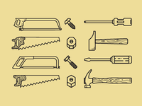 Tools, nut & bolt