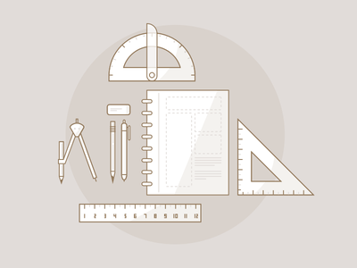 Design Toolkit Illustration design framework tools illustration icons