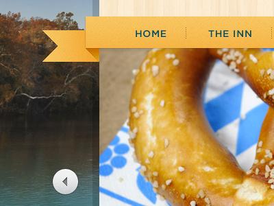 River Rock Ribbon Navigation ribbon orange images texture