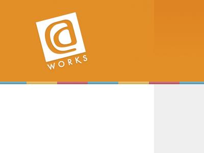 DC Works orange clean modern gradients