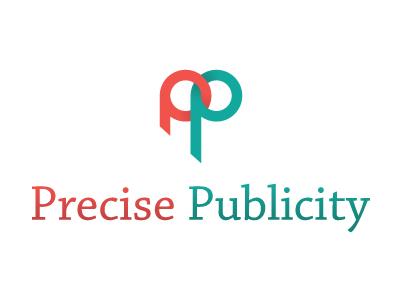 Precise Publicity logo branding clean