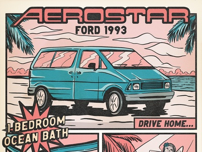 Ford Aerostar 1993 aka Maurice The Hormone Monster