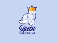 Queen Siberian Cat
