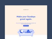 Debrief Landing Page