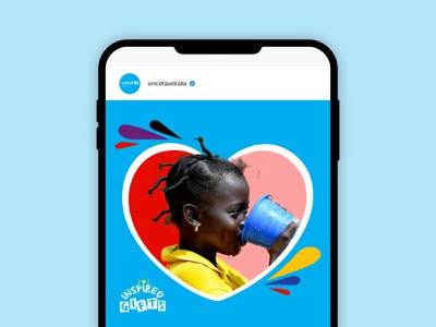 Unicef – Inspired Gifts campaign vector photography graphic design design charity branding