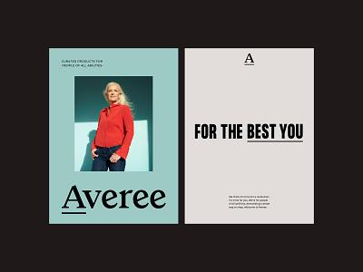 Averee – Brand Identity posters poster photography illustration graphic design design branding