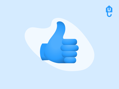 Thumbs up illustration proptech insurtech rent landlord renter guarantor icons icon unkle vector up thumb thumbs up illustration