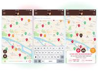 MisterGoodBeer maps UI