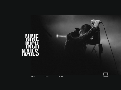 Trent Reznor - Editorial photography nine inch nails trent reznor rock editorial black portofolio black and white