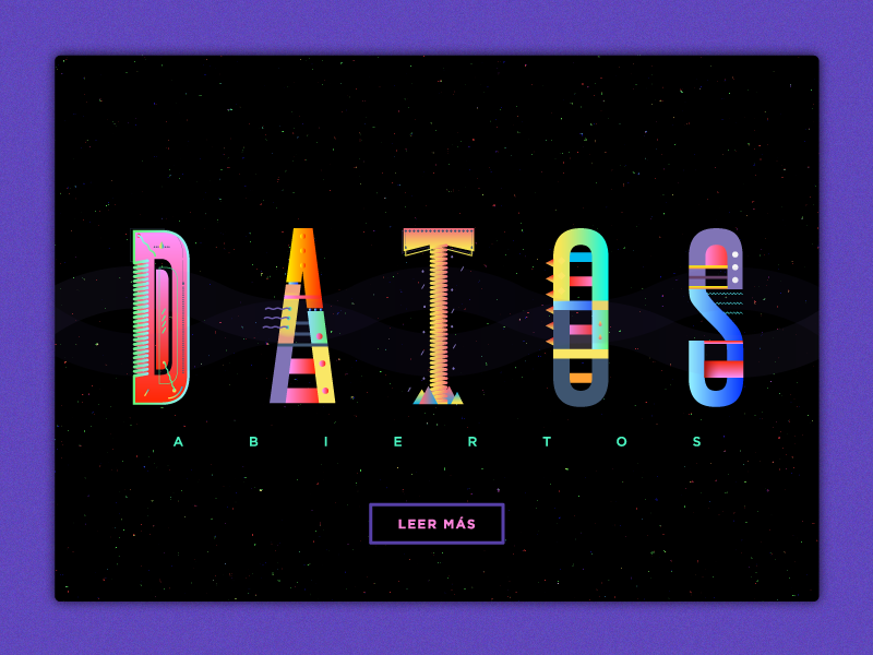 Much data, very colors. fun stuff concept free font carioca data
