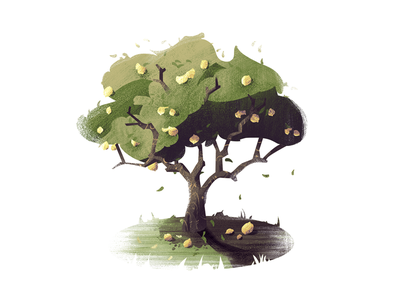 #11 When Life Gives You Lemons... nature tree illustration
