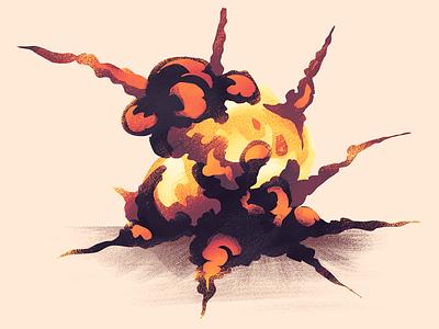 BOOM! boom explosion illustration